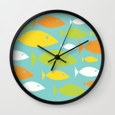 School of Fish Variation Two Wall Clock