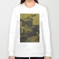 milan Long Sleeve T-shirts featuring Milan 5 by Anand Brai