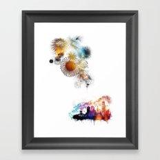 Timeless Explosions Framed Art Print