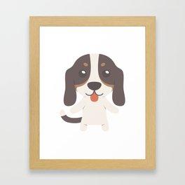 Berner Niederlaufhunde Gift Idea Framed Art Print