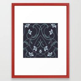 Gothic Flower Fantasy Framed Art Print
