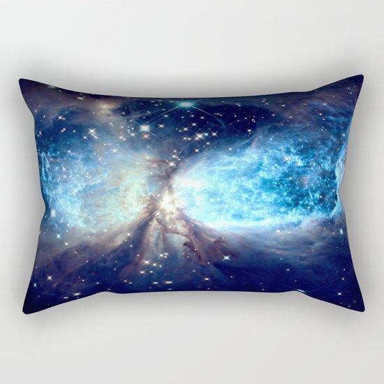 A Star is Born Teal Rectangular Pillow