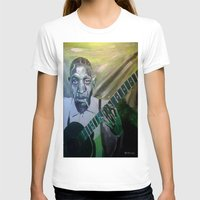 allyson johnson T-shirts featuring Robert Johnson  by Robert E. Richards