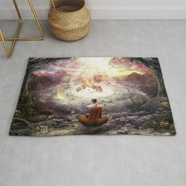 Nature And Time Rug