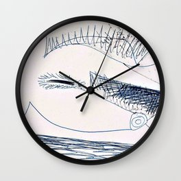Pablo Picasso - Lying nude - Digital Remastered Edition Wall Clock