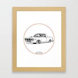 Crazy Car Art 0212 Framed Art Print