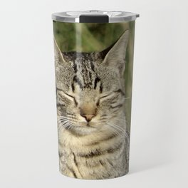 The Contented Cat Travel Mug
