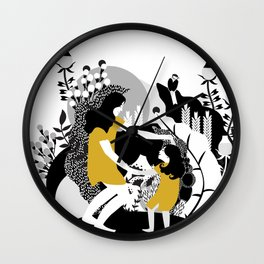Last Dance Before Bed Time Wall Clock
