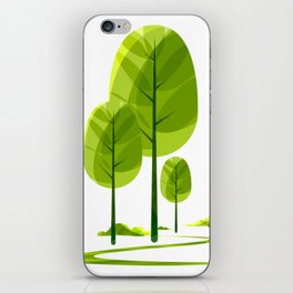 green nature iPhone Skin