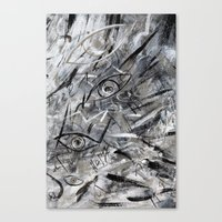 illusion Canvas Prints featuring Illusion by Nika Akin
