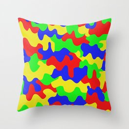 HH-Slushy Sunday Throw Pillow