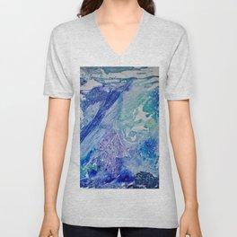 Water Scarab Fossil Under the Ocean, Environmental Unisex V-Neck