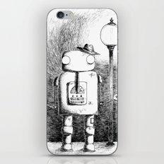 Hobo Robot iPhone & iPod Skin
