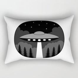 UFO Badge Rectangular Pillow