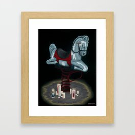 the messenger Framed Art Print