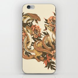 Snake & Mongoose iPhone Skin
