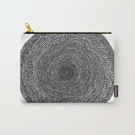 Circle / Semi Circles Carry-All Pouch