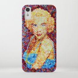 Marilyn In Pixel iPhone Case