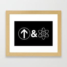 Up&Atom Framed Art Print