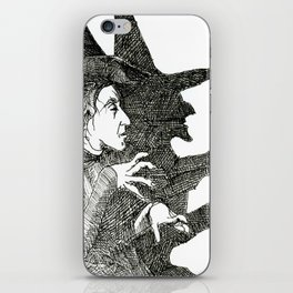 A Wicked Witch iPhone Skin