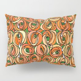 "Charles Rennie Mackintosh ""Roses and teardrops"" edited 6. Pillow Sham"