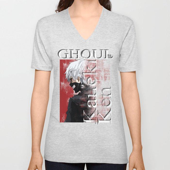 Kaneki Ken - Ghoul Unisex V-Neck