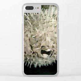 Tetraodontidae Clear iPhone Case