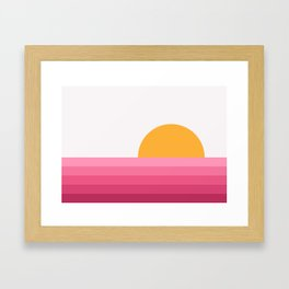 Sunseeker 15 Landscape Framed Art Print