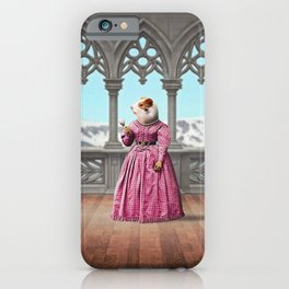 Henrietta Hamster at the Mountain Retreat iPhone Case