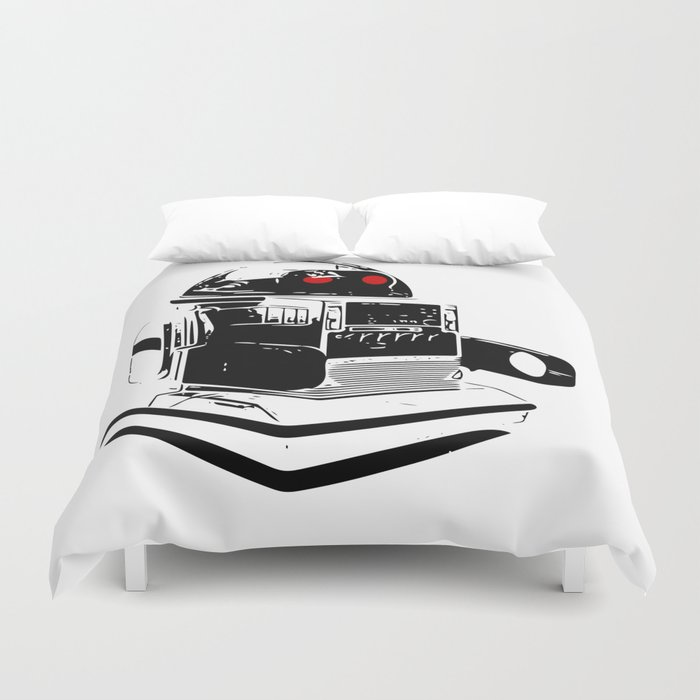 The Future Is Tomorrow  Duvet Cover
