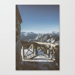Mountaintop Lookout  Canvas Print