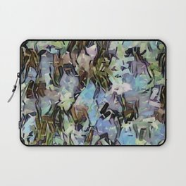 Abstract Confetti Landscape Laptop Sleeve