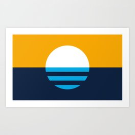People's Flag of Milwaukee Art Print