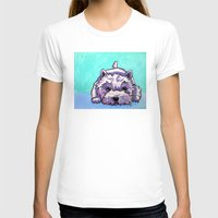 westie T-shirts featuring Kashi the Westie by Maxfield and Madison