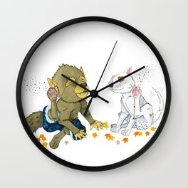 Scratch Wall Clock
