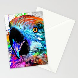 Ara Parrot Stationery Cards