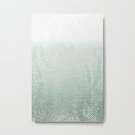 FADING GREEN EUCALYPTUS Metal Print