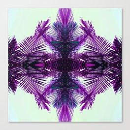 purple fern Canvas Print