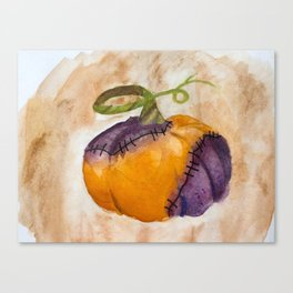 Rotting Pumpkin Canvas Print
