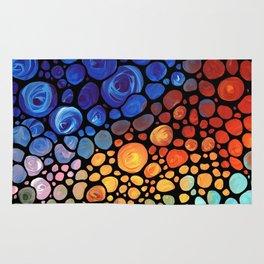 Abstract 1 - Beautiful Colorful Mosaic Art by Sharon Cummings Rug