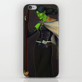 Elphaba, The Wicked Witch iPhone Skin