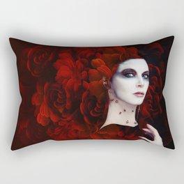 Madame Red Rectangular Pillow