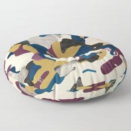 Gold Pattern Floor Pillow