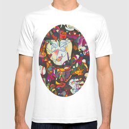 """I Am Large, I Contain Multitudes"" T-shirt"