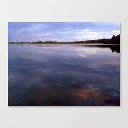 A Lake Canvas Print