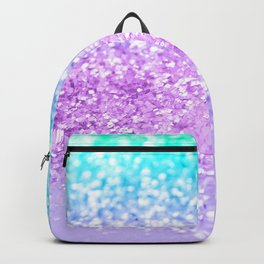 Unicorn Girls Glitter #9 #shiny #decor #art #society6 Backpack
