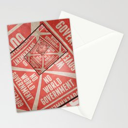 No World Government Stationery Cards