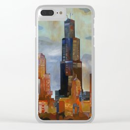 Sears Tower Clear iPhone Case