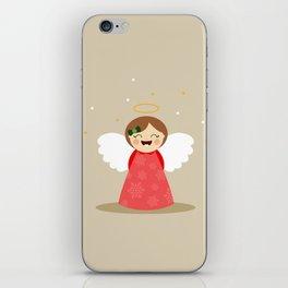 Ange (beige) iPhone Skin
