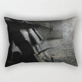 sound of pain Rectangular Pillow